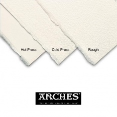 PAPIER DO AKWARELI ARCHES COLD NATUR WHITE 300G 56X76